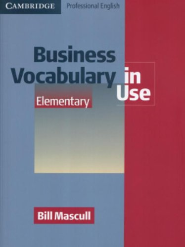 9780521606219: Business Vocabulary in Use Elementary (Professional English in Use)