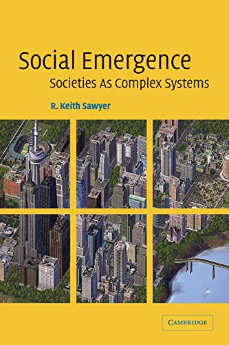 9780521606370: Social Emergence Paperback: Societies As Complex Systems
