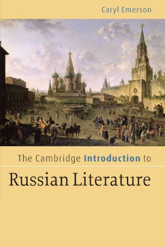 9780521606523: The Cambridge Introduction to Russian Literature Paperback: 0 (Cambridge Introductions to Literature)