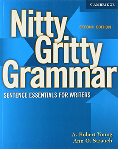 9780521606547: Nitty Gritty Grammar Student's Book: Sentence Essentials for Writers