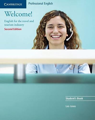 9780521606592: Welcome! English for travel and tourism. Per gli Ist. tecnici e professionali. Con espansione online