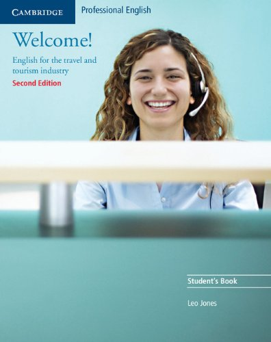 9780521606592: Welcome! Student's Book: English for the Travel and Tourism Industry