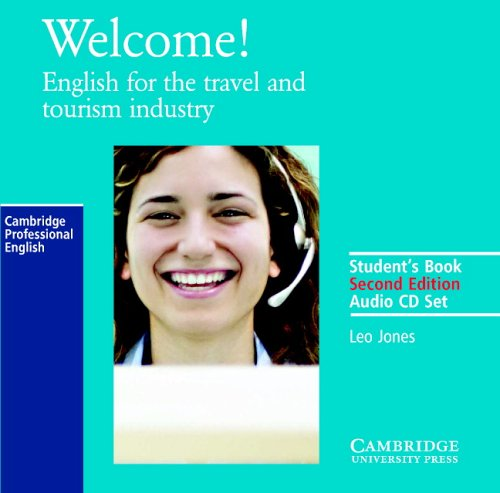 Welcome Audio Cassette Set (2 Cassettes): English for the Travel and Tourism Industry (0521606624) by Leo Jones