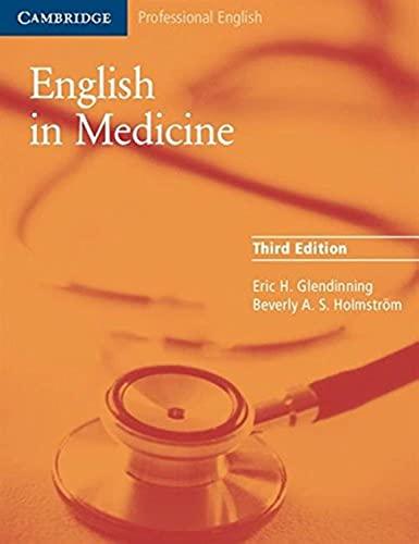 9780521606660: English in Medicine: A Course in Communication Skills (Cambridge Professional English)