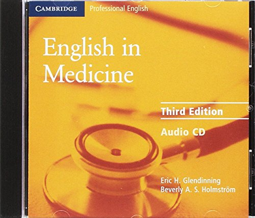 9780521606684: English in Medicine Audio CD: A Course in Communication Skills (Face2face S.)