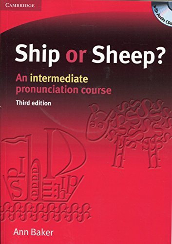 9780521606738: Ship or Sheep? Book and Audio CD Pack: An Intermediate Pronunciation Course