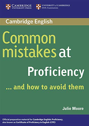 9780521606837: Common Mistakes at Proficiency...and How to Avoid Them