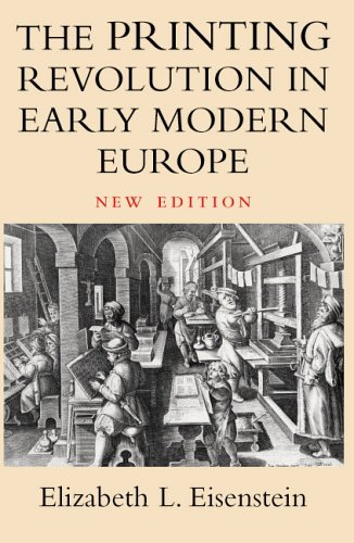 9780521607742: The Printing Revolution in Early Modern Europe