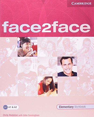 9780521607926: Face2face elementary workbook(Edición alemana)