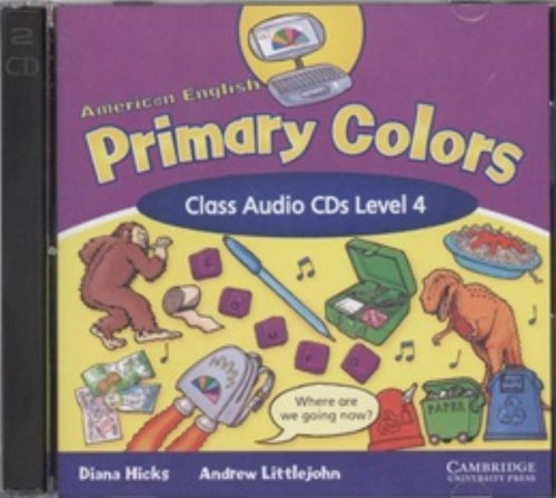 9780521607957: American English Primary Colors 4 Class Audio CDs