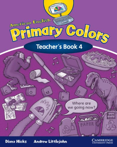 9780521607964: American English Primary Colors 4 Teacher's Book (Primary Colours)