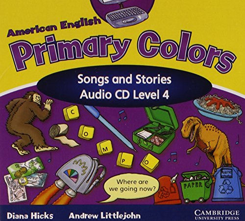 9780521607971: American English Primary Colors 4 Songs and Stories Audio CD (Primary Colours)