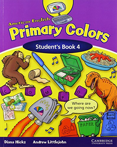 9780521607988: American English Primary Colors 4 Student's Book
