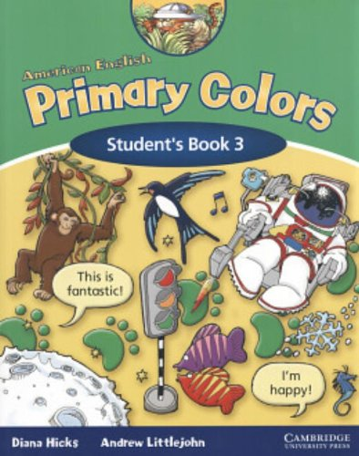 9780521608039: American English Primary Colors 3 Student's Book (Primary Colours)