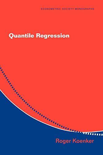 9780521608275: Quantile Regression Paperback (Econometric Society Monographs)