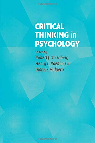 9780521608343: Critical Thinking in Psychology