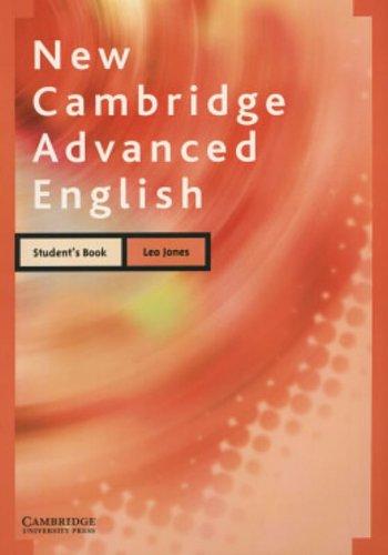 9780521608459: New Cambridge Advanced English Student's Book
