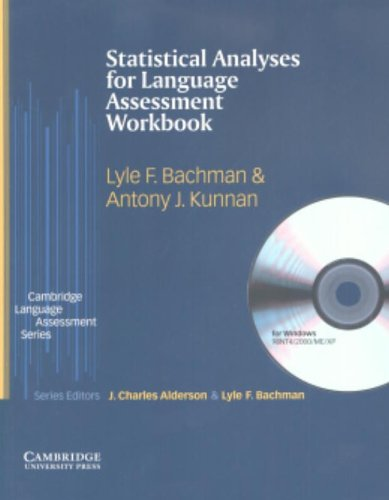 9780521609067: Statistical Analyses for Language Assessment Workbook and CD ROM (Cambridge Language Assessment)