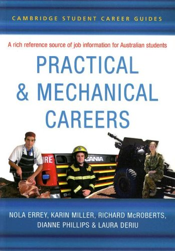 9780521609654: Cambridge Student Career Guides Practical and Mechanical Careers (Cambridge Career Guides)