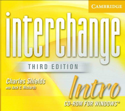9780521609968: Interchange Intro CD ROM (Interchange Third Edition)