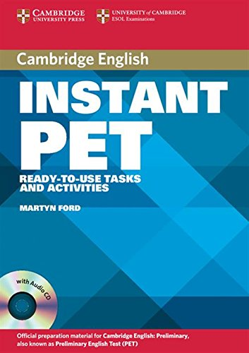 9780521611244: Instant PET Book and Audio CD Pack: Ready-to-Use Tasks and Activities (Cambridge Copy Collection)