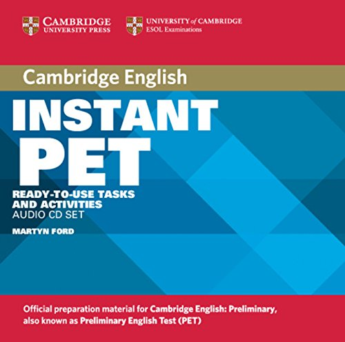 9780521611268: Instant PET Audio CD Set (2 CDs): Ready-to-Use Tasks and Activities (Cambridge Copy Collection)