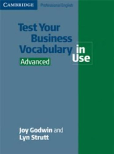 9780521611503: Test Your Business Vocabulary in Use Advanced (Cambridge Professional English)