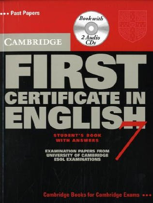 9780521611619: Cambridge First Certificate in English 7 Self Study Pack (FCE Practice Tests) (No. 7)