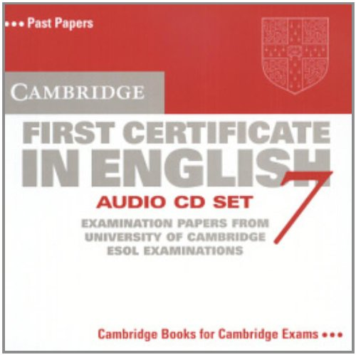 9780521611626: Cambridge First Certificate in English 7 Audio CD Set (2 CDs): Level 7 (FCE Practice Tests)