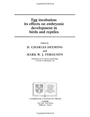 9780521612036: Egg Incubation: Its Effects on Embryonic Development in Birds and Reptiles