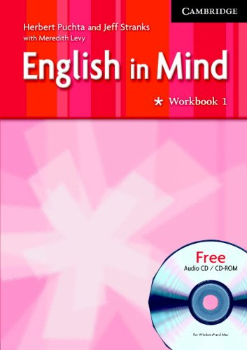 9780521612173: English in Mind 1 Workbook with Audio CD/CD ROM Middle Eastern Ed