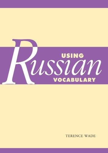 9780521612364: Using Russian Vocabulary (Using (Cambridge))