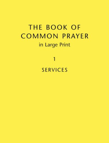 The Book of Common Prayer, Volume 1: Services and Other Material (Hardcover): Baker Publishing ...