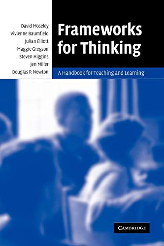 9780521612845: Frameworks for Thinking: A Handbook for Teaching and Learning