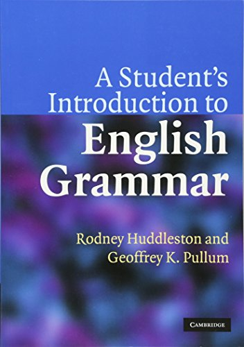 9780521612883: A Student's Introduction to English Grammar