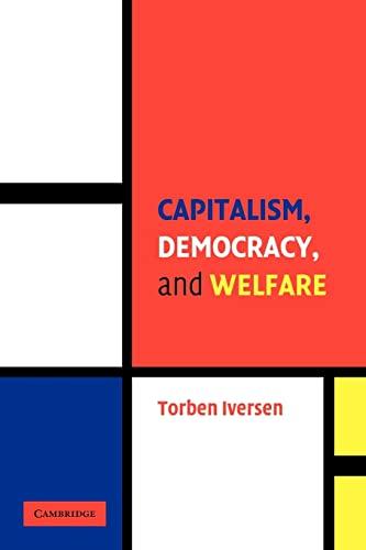 9780521613071: Capitalism, Democracy, and Welfare Paperback (Cambridge Studies in Comparative Politics)