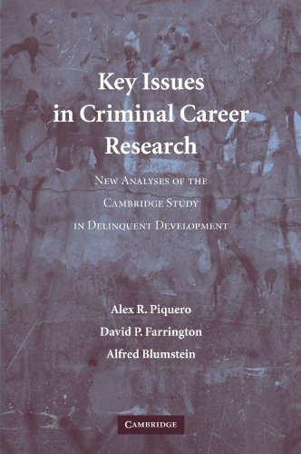 9780521613095: Key Issues in Criminal Career Research: New Analyses of the Cambridge Study in Delinquent Development (Cambridge Studies in Criminology)