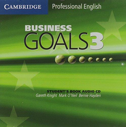 9780521613194: Business Goals 3 Audio CD (Cambridge Professional English)