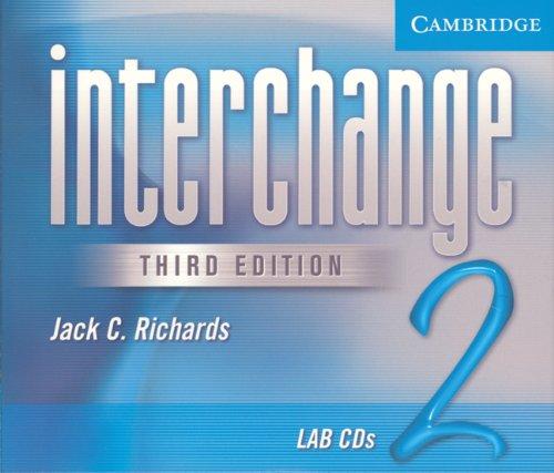 Interchange 2 Lab Audio CDs (4): Richards, Jack C.