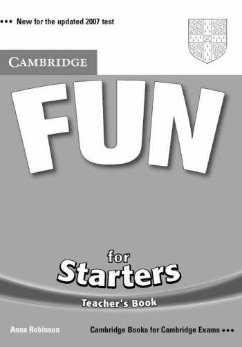 9780521613590: Fun for Starters Teacher's Book