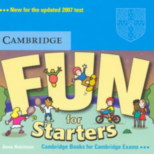 9780521613613: Fun for Starters Audio CD