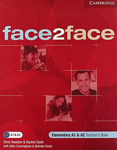 9780521613712: face2face Elementary Teacher's Book