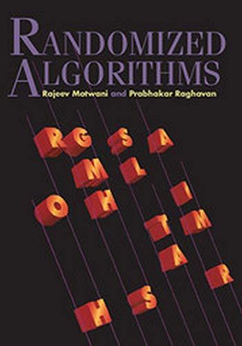 9780521613903: Randomized Algorithms