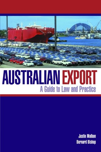 9780521613958: Australian Export: A Guide to Law and Practice
