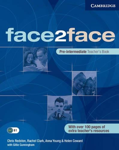 face2face Pre-intermediate Teacher's Book (0521613965) by Rachel Clark; Anna Young