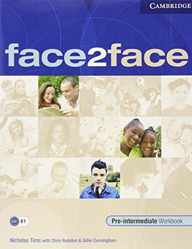 9780521613972: face2face Pre-intermediate Workbook with Key
