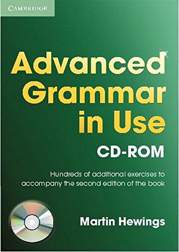 9780521614023: Advanced Grammar in Use CD ROM single user
