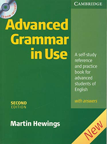 9780521614030: Advanced Grammar In Use - Second Edition (+ Key+  CD)