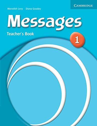 9780521614252: Messages 1 Teacher's Book
