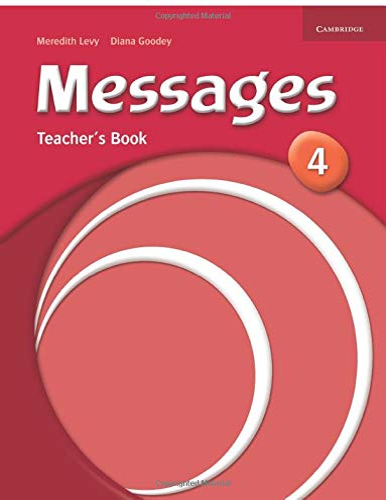 9780521614412: Messages 4 Teacher's Book: Level 4